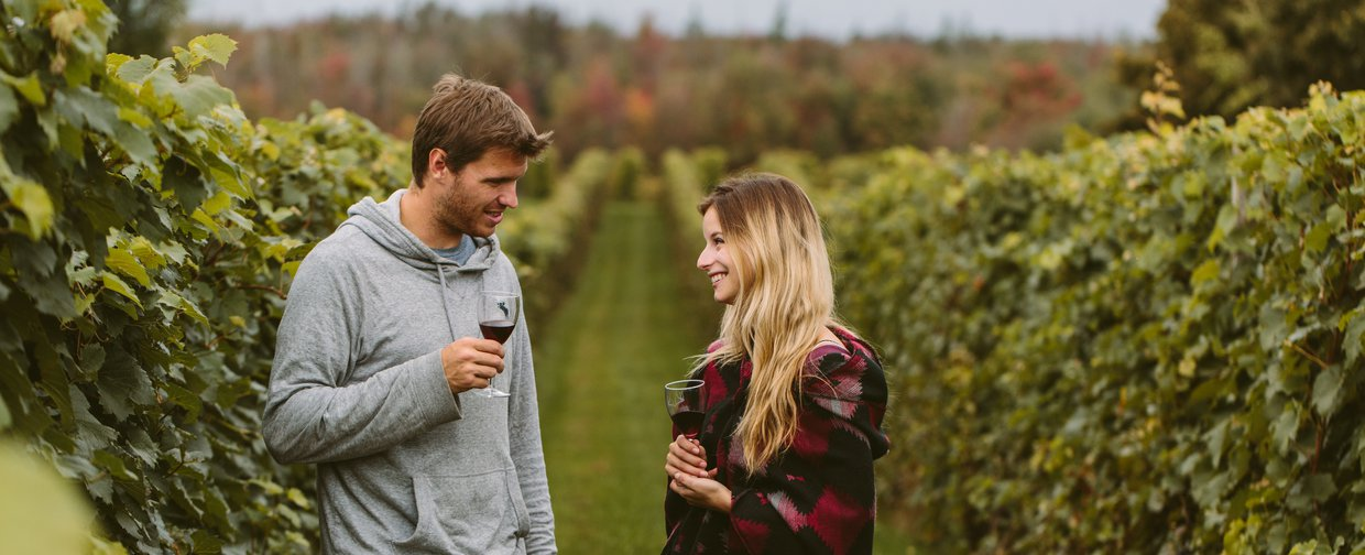 Couple - Vignoble - Bellechasse