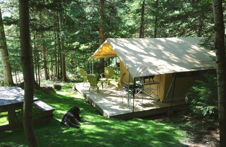 Parc régional des Appalaches - Camping du Randonneur - Tente prêt-à-camper
