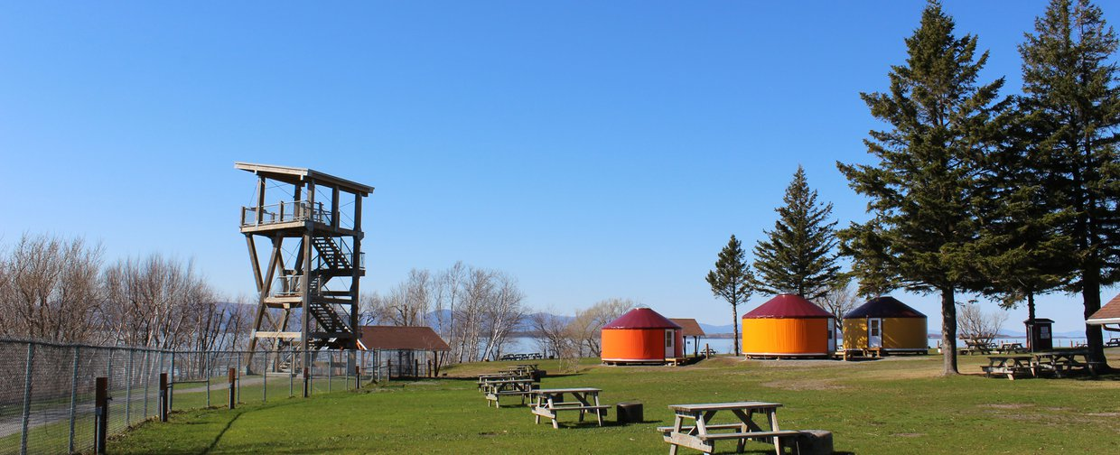 Yourte - Camping pointes aux oies