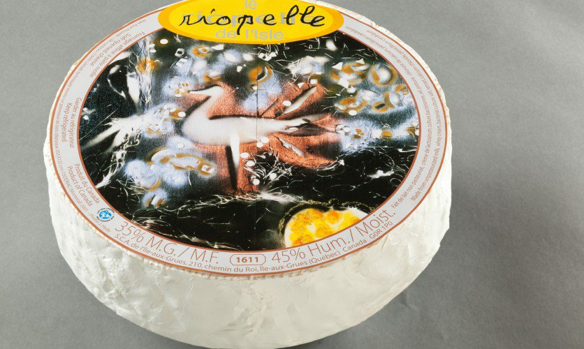 Fromage Riopelle étiquette