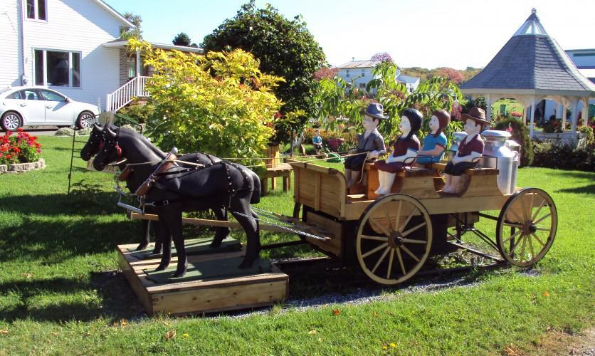 Mon Jardin Anime Garden To Saint Aubert Destination Region L Islet
