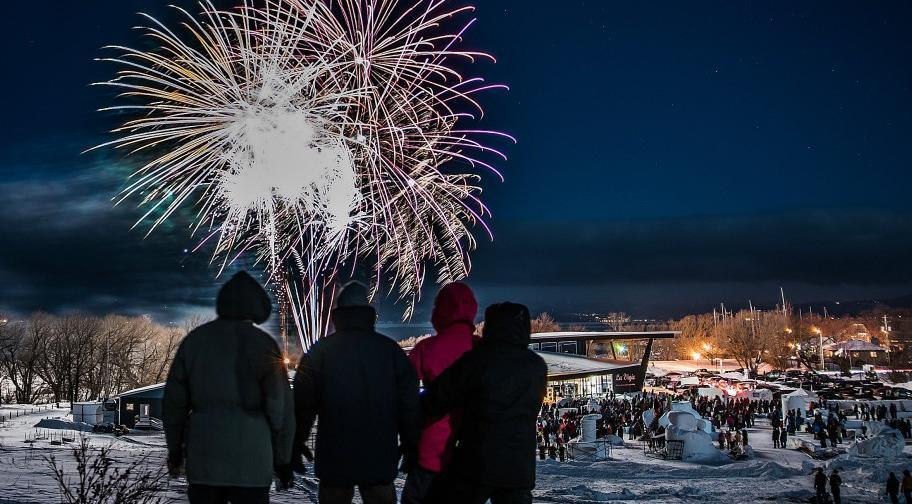 Firework-Winter festival