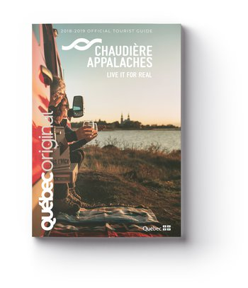 2018-2019 Chaudière-Appalaches Official Tourist Guide (New:Tear-Off Tourist Map Included)